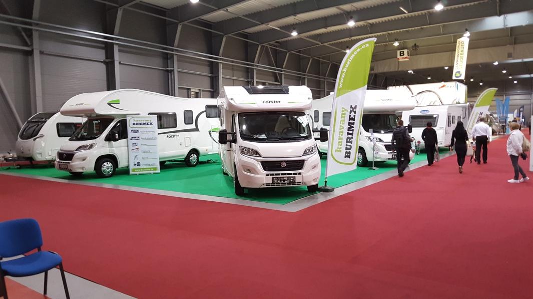 Výstava karavanů For Caravan 2016