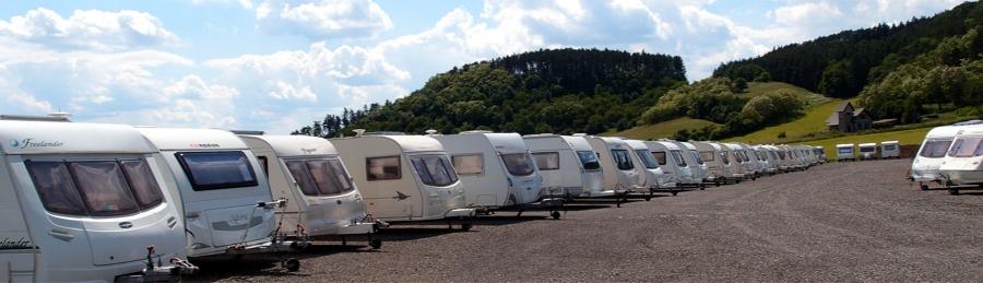 Kam s karavanem v Libereckém kraji