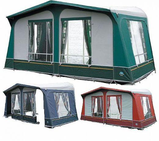 Předstany ke karavanu a markýzy pro karavany