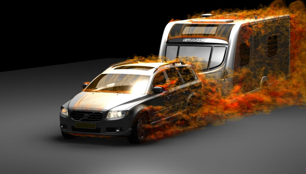 Aerodynamický odpor soupravy