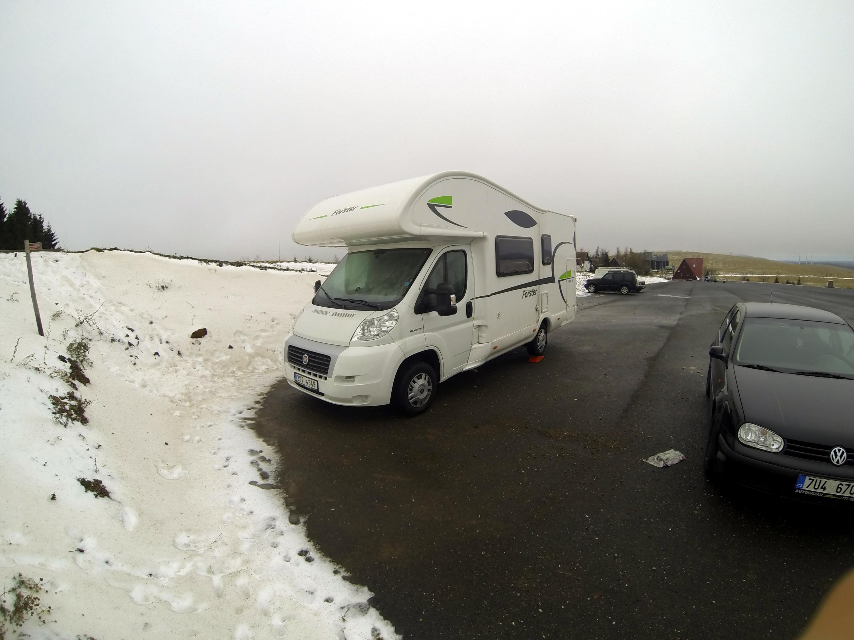 S karavanem na hory – Klínovec