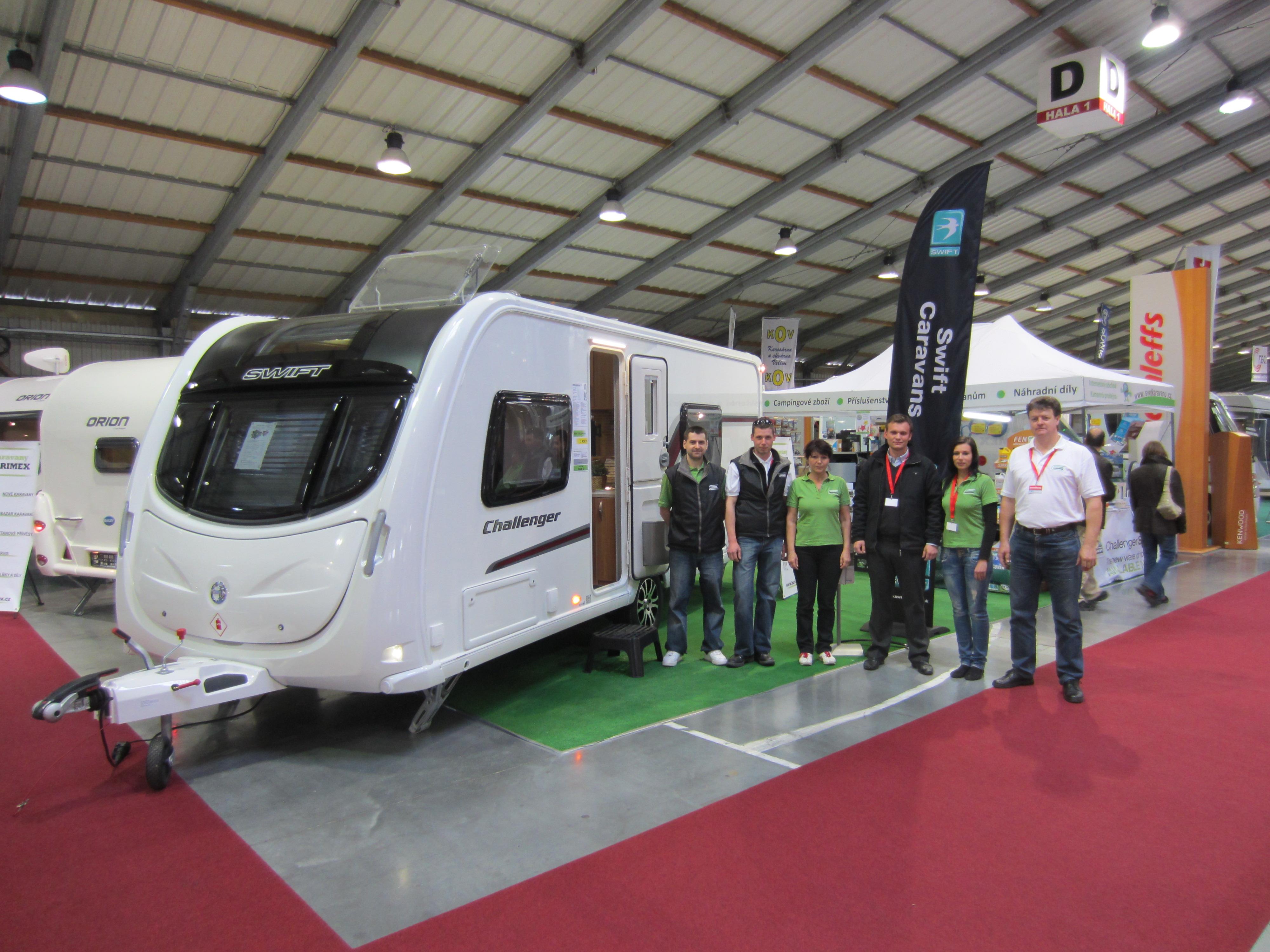 Výstava karavanů Brno 2013 – Caravaning Brno  2013
