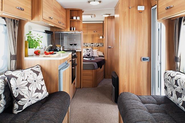 Redakční test karavanu Sprite Alpine 4 2014